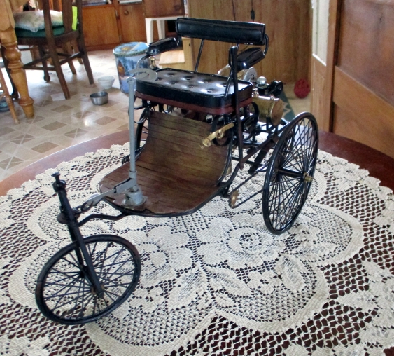 Model of the 1886 Benz Motorwagen